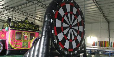 Viking Springkastelen - Voetbal darts